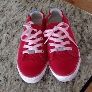 Red Kim and Zozi Sneakers
